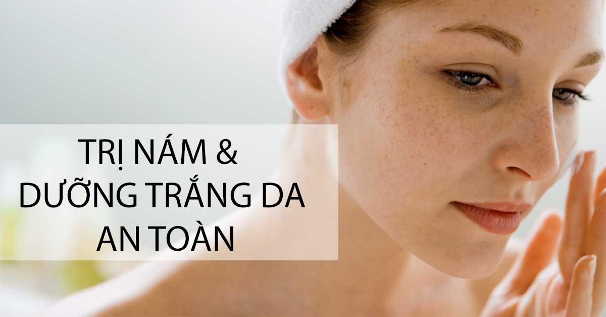 giảm sắc tố melanin và điều trị sạm nám da